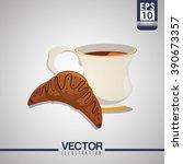 coffee shop design    Shutterstock .eps vector #390673357