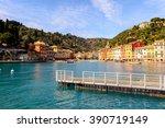 portofino  italy | Shutterstock . vector #390719149