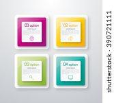 vector illustration of four... | Shutterstock .eps vector #390721111