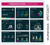 set of infographic presentation ...