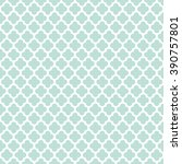 seamless vintage trellis... | Shutterstock .eps vector #390757801