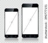 smartphone  mobile phone...   Shutterstock .eps vector #390777151