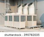 exterior aircondition | Shutterstock . vector #390782035