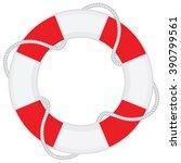 lifebelt vector   Shutterstock .eps vector #390799561