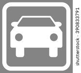 car vector icon. style is flat... | Shutterstock .eps vector #390833791
