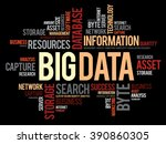 big data word cloud concept