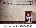 portrait of child businessman...   Shutterstock . vector #390861541