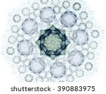 abstract design of white powder ... | Shutterstock . vector #390883975