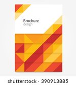 brochure  leaflet  flyer  cover ... | Shutterstock .eps vector #390913885