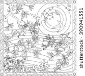 Coloring Page Illustration In...