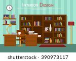 vector flat illustration of... | Shutterstock .eps vector #390973117