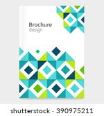 brochure  leaflet  flyer  cover ... | Shutterstock .eps vector #390975211