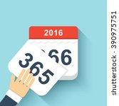 Calendar Style Flat Leap Year...
