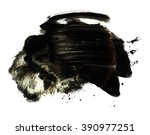 abstract black spot for the... | Shutterstock . vector #390977251