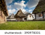 Rustic Wooden Houses With...