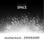 glitter dust texture.gold... | Shutterstock .eps vector #390983089