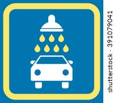 car shower vector icon. style... | Shutterstock .eps vector #391079041