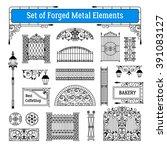 Forged Metal Elements Black...