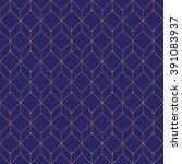 vector seamless pattern. modern ... | Shutterstock .eps vector #391083937