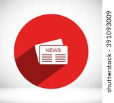 news icon | Shutterstock .eps vector #391093009