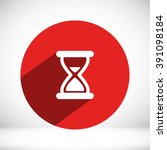 hourglass icon   Shutterstock .eps vector #391098184