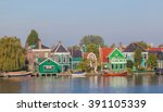 Colourful Houses With Dutch...