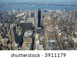 aerial view from the empire... | Shutterstock . vector #3911179