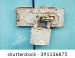 old lock house   Shutterstock . vector #391136875