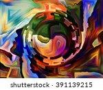 hide and seek series. backdrop... | Shutterstock . vector #391139215