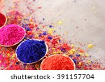 holi  celebration of colors.an... | Shutterstock . vector #391157704