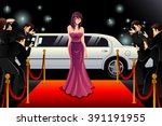 a vector illustration of... | Shutterstock .eps vector #391191955