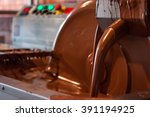 old machine for the manufacture ... | Shutterstock . vector #391194925