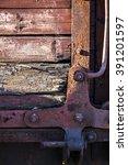 old railway carriage  narrow... | Shutterstock . vector #391201597