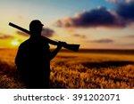 hunting. | Shutterstock . vector #391202071