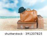 suitcase. | Shutterstock . vector #391207825
