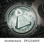 Small photo of all-seeing eye on the dollar
