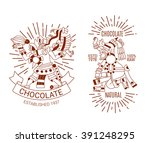 vector illustration sketch... | Shutterstock .eps vector #391248295