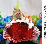 Little Chipmunk Eats His...