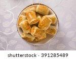 brazilian snack.chicken snacks... | Shutterstock . vector #391285489