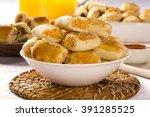 brazilian snack.chicken snacks... | Shutterstock . vector #391285525