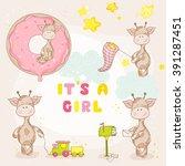 Baby Girl Giraffe Set   Baby...
