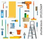 repair  renovation and... | Shutterstock .eps vector #391315669