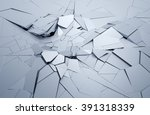 abstract 3d rendering of... | Shutterstock . vector #391318339