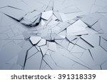 abstract 3d rendering of... | Shutterstock . vector #391318339