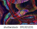 wide polychrome glass background | Shutterstock . vector #391321231