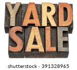 yard sale banner    isolated... | Shutterstock . vector #391328965