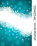 beautiful vector christmas  new ... | Shutterstock .eps vector #39133432