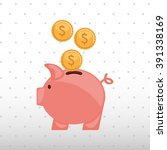 money concept design  | Shutterstock .eps vector #391338169