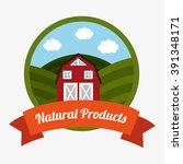 farm fresh design  | Shutterstock .eps vector #391348171