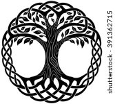 vector ornament  decorative... | Shutterstock .eps vector #391362715